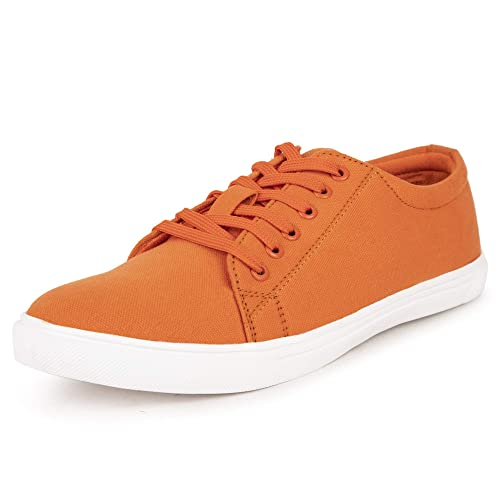 467ac701d60c7 MONKS & KNIGHTS Smart Casual Canvas Sneakers for Men Boys Girls Unisex  Shoes - Tempting Colors