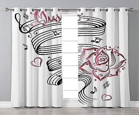 VANKINE Cortinas para ventana personalizables, decoración de ...