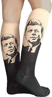 product image for Chrissy's Socks Women's JFK Socks Black/Hemp