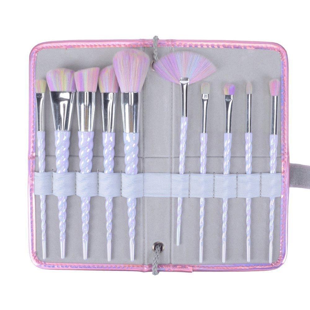 0cc4a31acffc fiveaccy Unicorn Makeup Brushes Makeup Brushes Set Rainbow ...