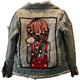 Star Flower Little Big Girls Denim Jackets Coats Outwear
