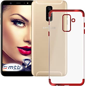 mtb More Energy® Funda TPU Elegance para Samsung Galaxy A6 Plus ...