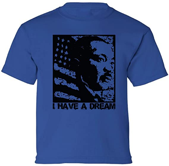 Amazon Com Pekatees Dr Martin Luther King Youth Kids T Shirts Mlk