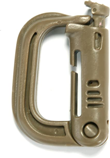 5 Outdoor Military Tactical Backpack Locking Molle Buckle Snap D-Ring Clip Hook