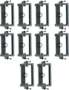 Arlington LVS1 Screw On Single Gang Low Voltage Mounting Bracket (10/pack)