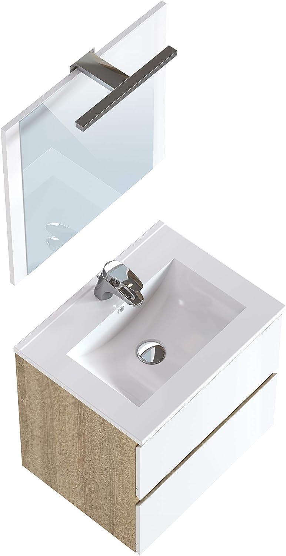 Marchio  -/Movian Argenton colore bianco 30 x 27 x 140 cm Colonna da bagno