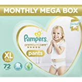 Pampers Premium Care Pants Diapers Monthly Box Pack, X-Large, 72 Count