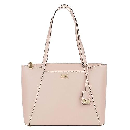 MICHAEL di Michael Kors Maddie Borsa a tracolla in pelle morbida rosa uni  Soft Pink  Amazon.it  Scarpe e borse 319398d6a5c
