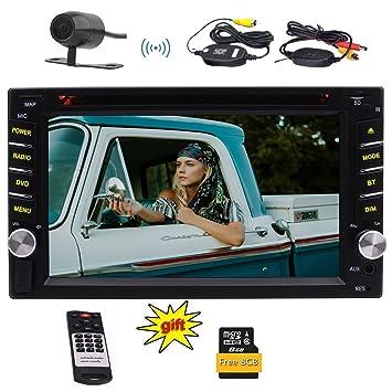 EinCar 6,2 pulgadas Doble 2 DIN en el tablero de coches reproductor de DVD