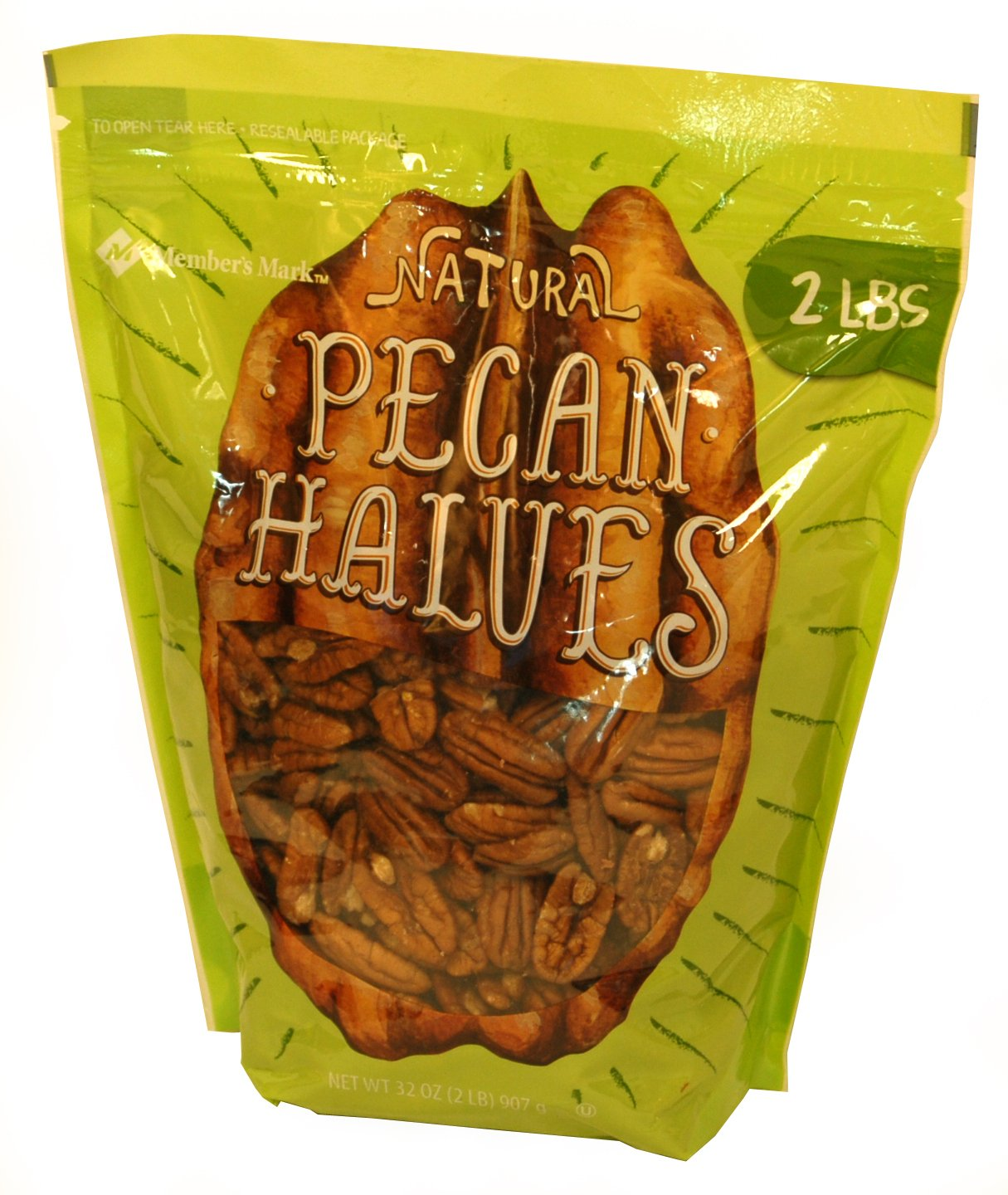 Natural Pecan Havles - 2 lbs. - Approximately 8 cups by American Standart