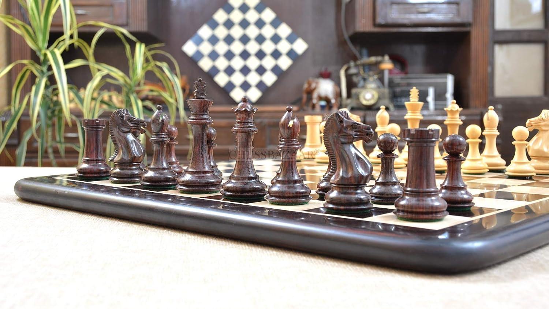 美品  Chessbazaar Combo of - Fierce Knight Staunton 4.1
