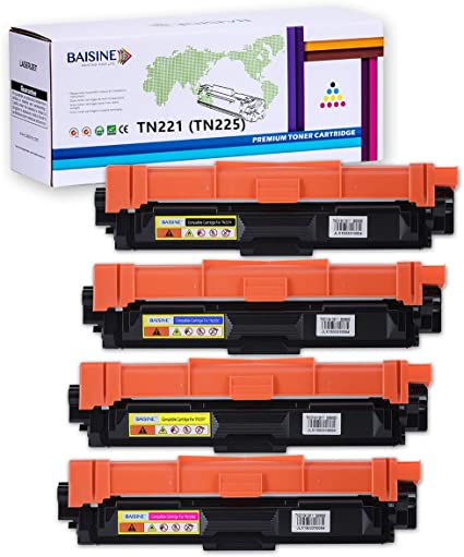 2pk TN221 BK TN-221 Black Toner For Brother MFC-9130CW MFC-9340CDW MFC-9330CDW