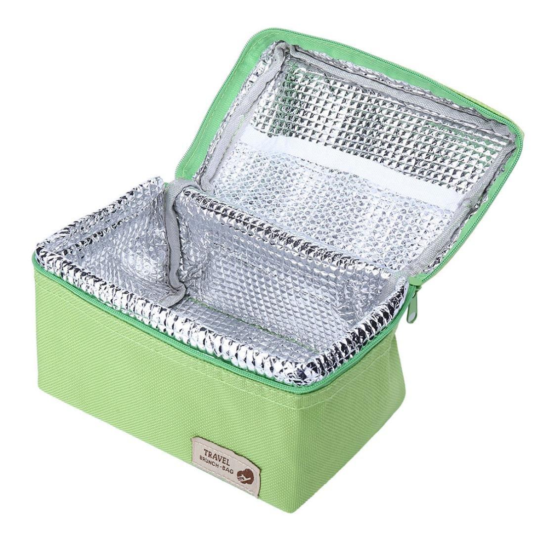 Compras exterior Auto Silver Bolsa t/érmica porta alimentos STRIR impermeable bolsa nevera cesta de la compra suave enfriador aislado Picnic para alimentos Negocios camping