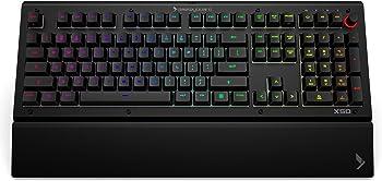 Das Keyboard X50Q Soft Tactile RGB Gaming Mechanical Keyboard