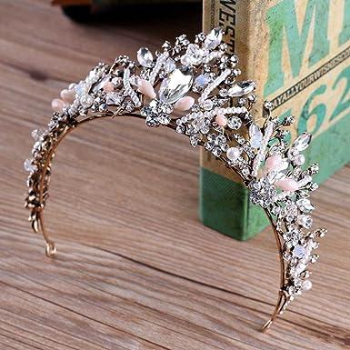 Amazon com: Chicer Baroque vintage Wedding Crown Bridal Tiara