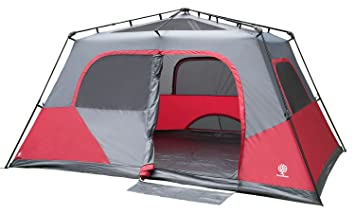 Image Unavailable. Image not available for. Colour Canadiana 8 Person Instant C&ing Cabin Tent  sc 1 st  Amazon.ca & Canadiana 8 Person Instant Camping Cabin Tent: Amazon.ca: Sports ...