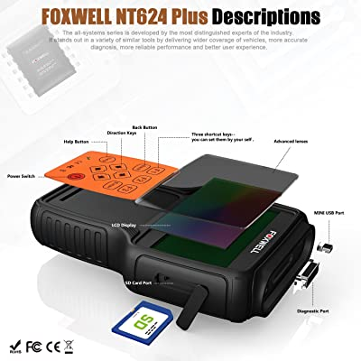 FOXWELL NT624 PRO is a professional supplier of automotive diagnostic products, services and solutions in the aftermarker