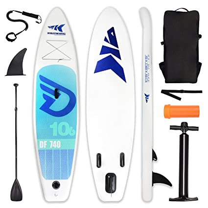 Amazon com : KastKing Inflatable 10'6'' Stand Up Paddle