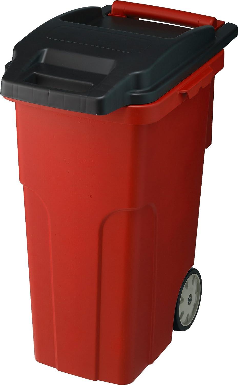 リス キャスター付きゴミ箱 キャスターペール 45C4 45L 4輪 レッド B005K6VGG6 45L|レッド レッド 45L