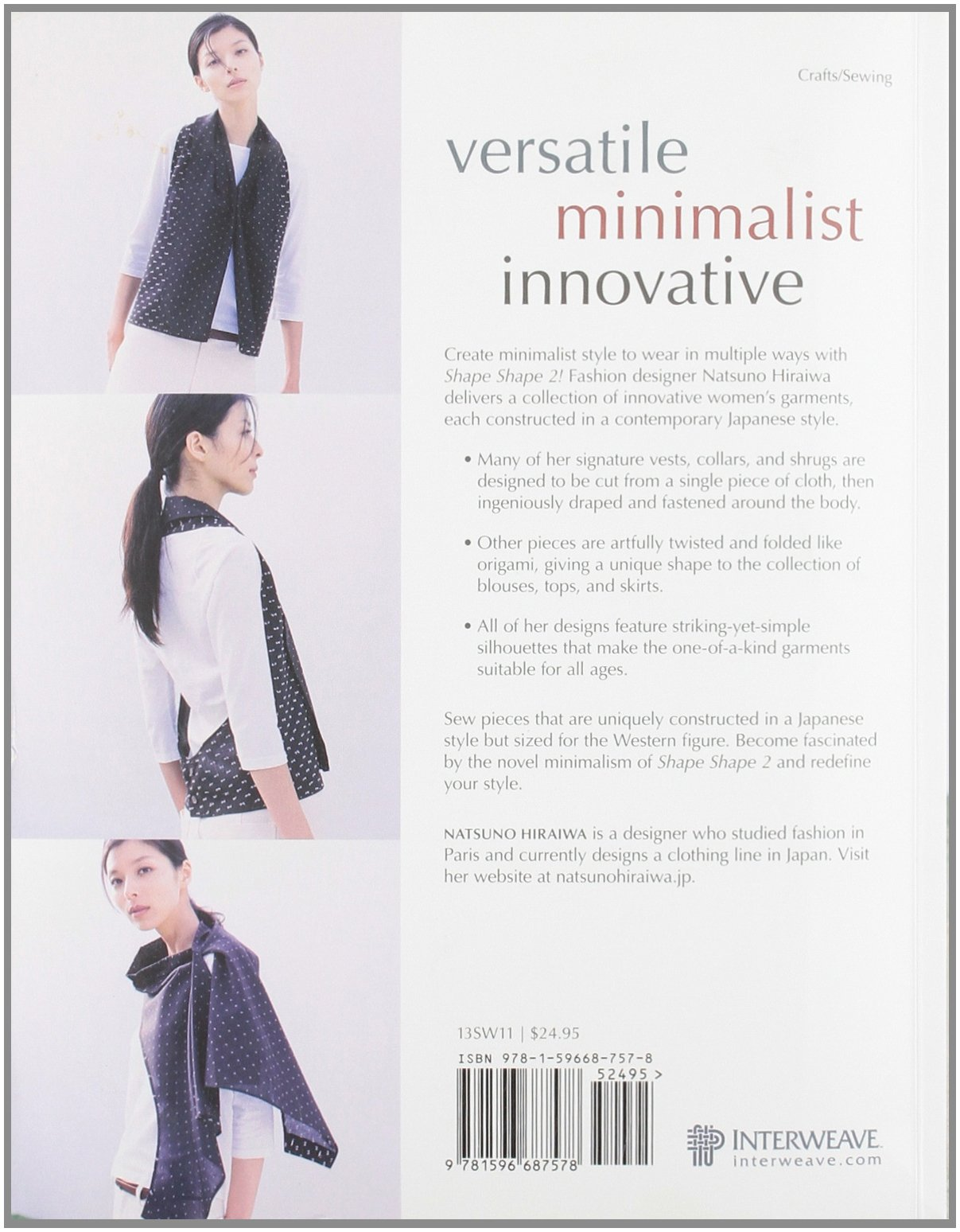 Shape shape 2 sewing for minimalist style natsuno hiraiwa shape shape 2 sewing for minimalist style natsuno hiraiwa hiraiwa natsuno 0499991618590 amazon books jeuxipadfo Image collections