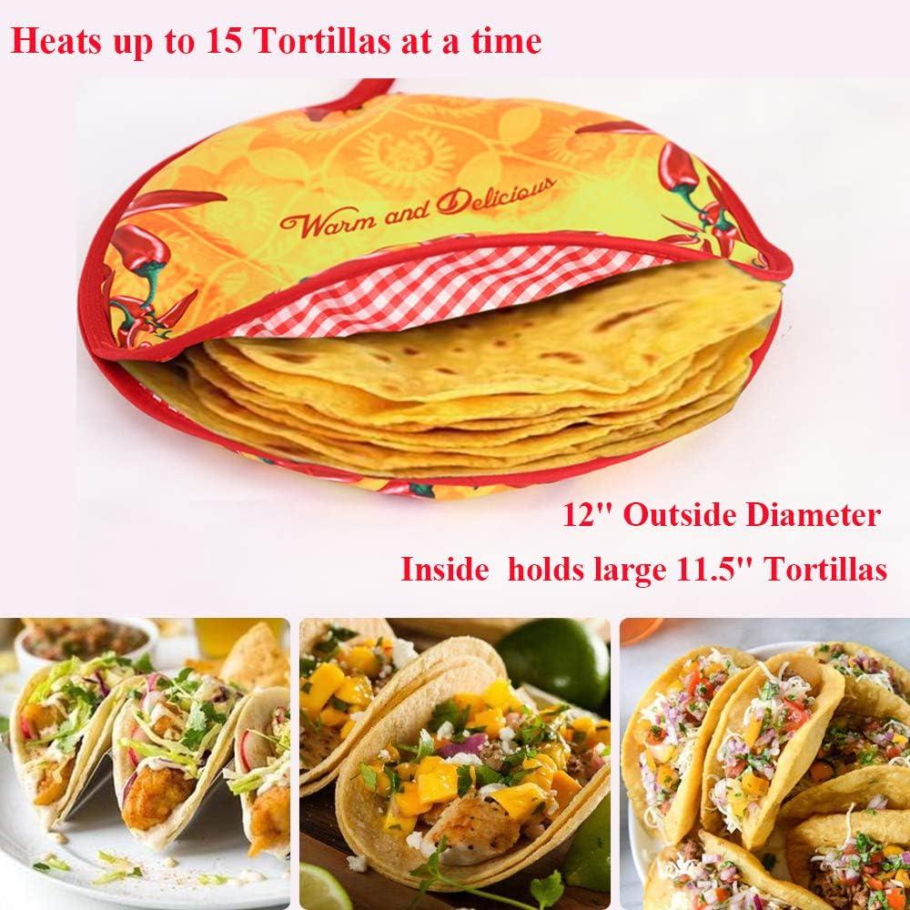 Amazon.com: Zdada - Calentador de tortilla de tamaño grande ...
