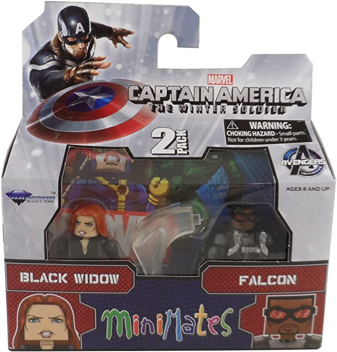 Mini Figure New Chaoer 8CM Captain America Winter Soldier Q Ver