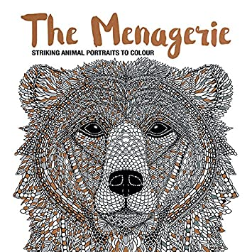 The Menagerie: Animal Portraits to Colour: Richard Merritt, Claire ...