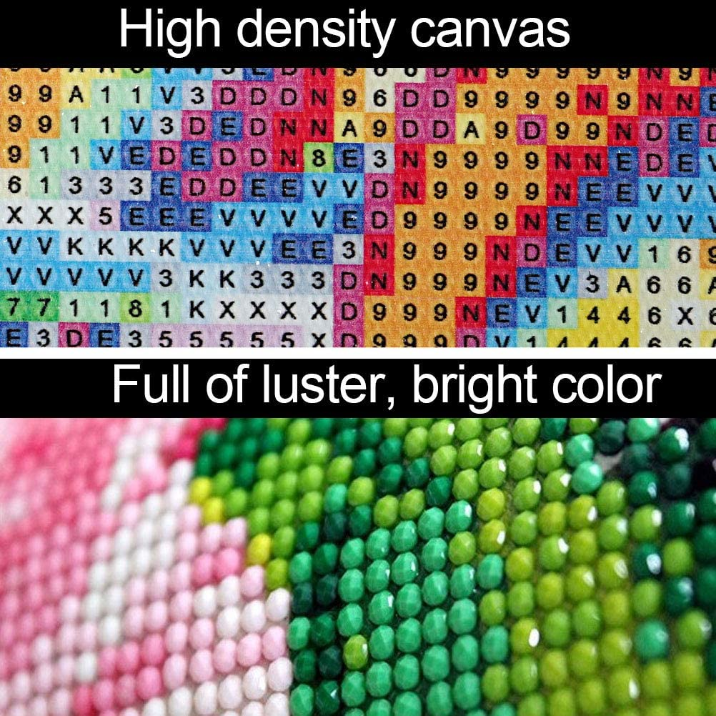 SUMAJU DIY 5D Unicorn Diamond Painting Kits Full Drill Crystal Rhinestone Embroidery Pictures Arts Craft for Home Wall Decor