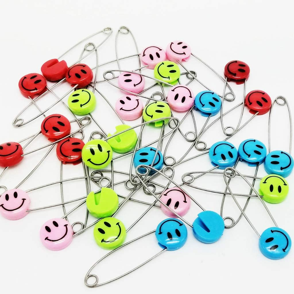 Hotsale 20pcs Safety Locking Baby Cloth Nappy Diaper Craft Pins In LL