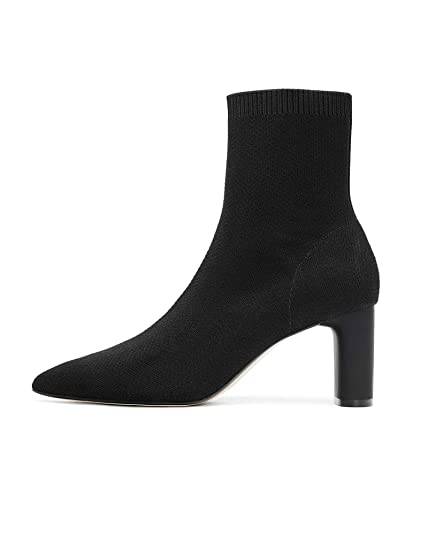8649e0db384 Zara Women's Fabric high Heel Ankle Boots 5100/301 Black: Amazon.co ...