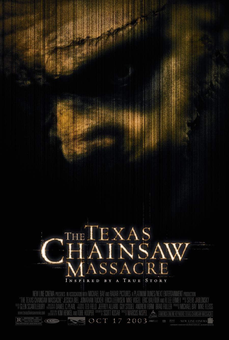 Texas Chainsaw Massacre Movie Poster 1 Sided Original 27x40 Jessica BIEL