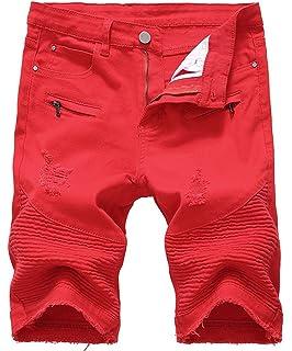 D'été Au Casual Droite Hommes Genou Vintage De Mode Shorts mN8nwv0