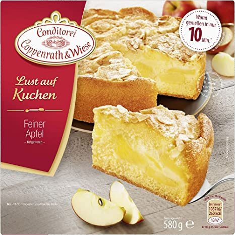 Conditorei Coppenrath Wiese Lust Auf Kuchen Feiner Apfel 580 G