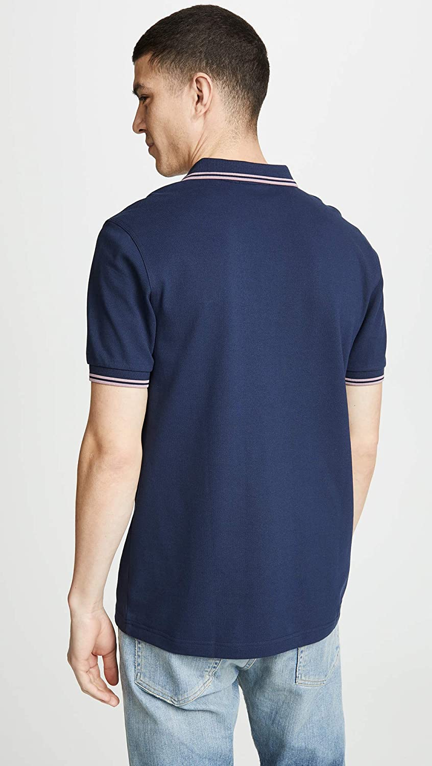 22f576e12 Fred Perry Men s Twin Tipped Polo Shirt  Fred Perry  Amazon.co.uk  Clothing