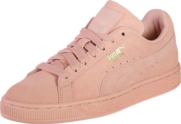 Puma Suede Classic Sneaker Damen Herren Unisex Wildleder Orange (Peach Bud)