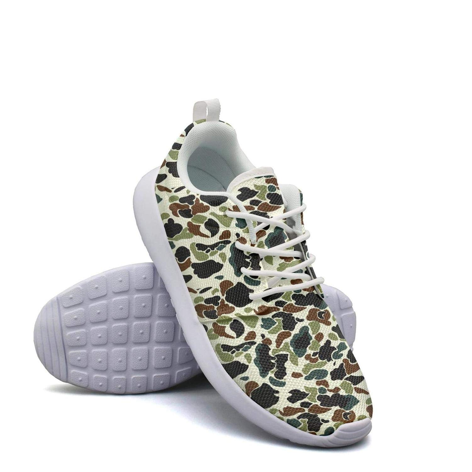 ERSER Camouflage Army Running Shoes for Plantar Fasciitis for Women