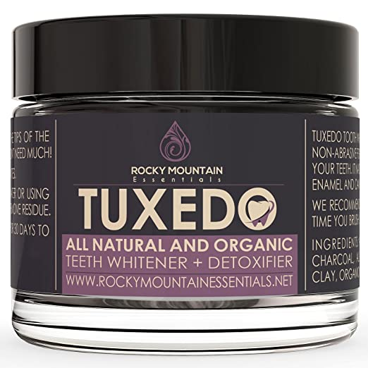 Tuxedo Teeth Whitening Activated Charcoal Powder Teeth whitening products