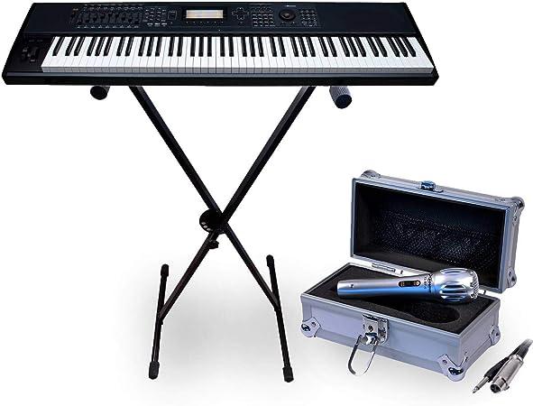 Soporte Robuste para teclado, Piano, Sintetizador 5 Posit. + ...