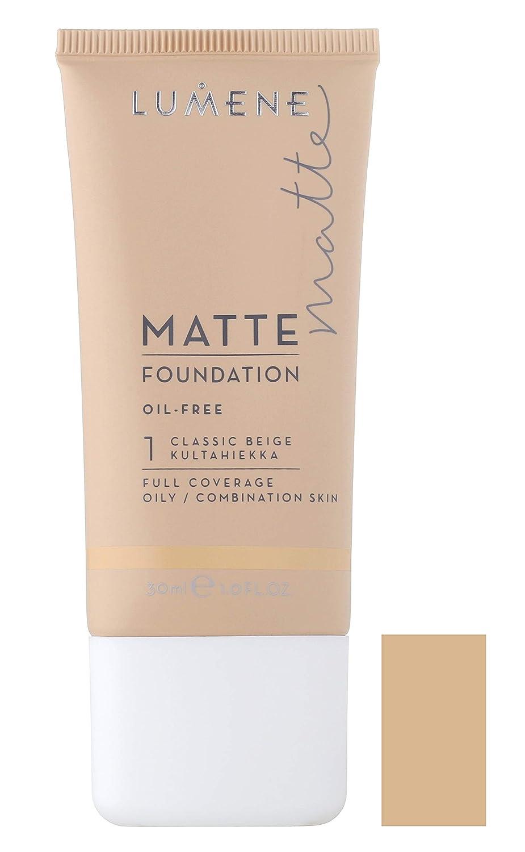 Lumene matte oil free foundation