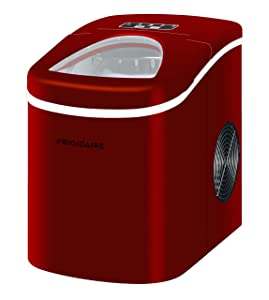 Frigidaire EFIC108-RED Compact Ice Maker (Red)