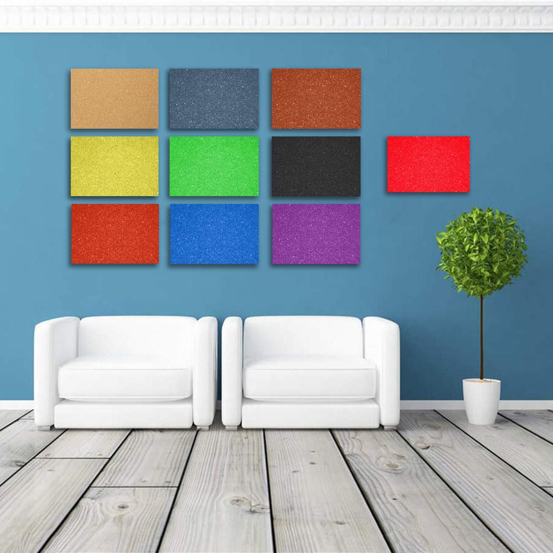 de 45,7 x 30,5 cm rectangulares Red-Ni 3 tableros de anuncios de Corcho autoadhesivos Color Gris