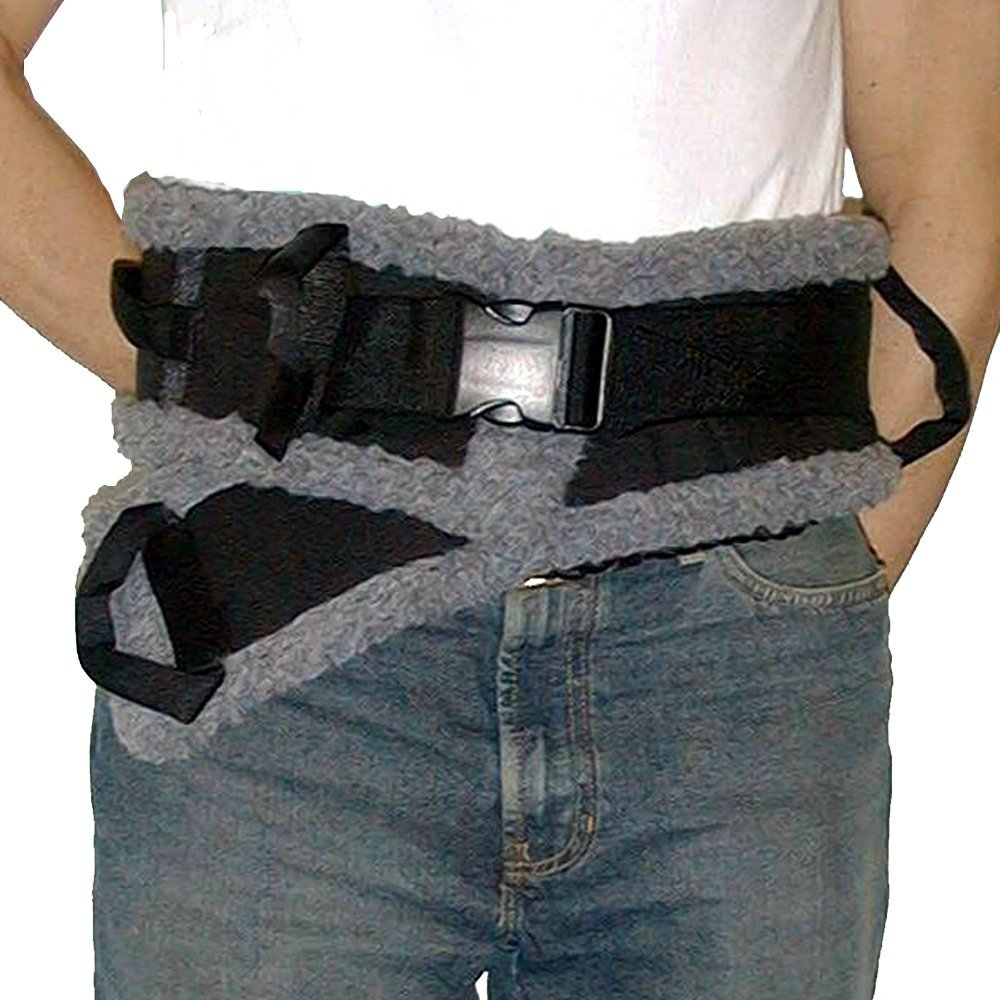 SafetySure Sherpa Transfer Belt, Patient Transfer and Walking Gait Belt - Small