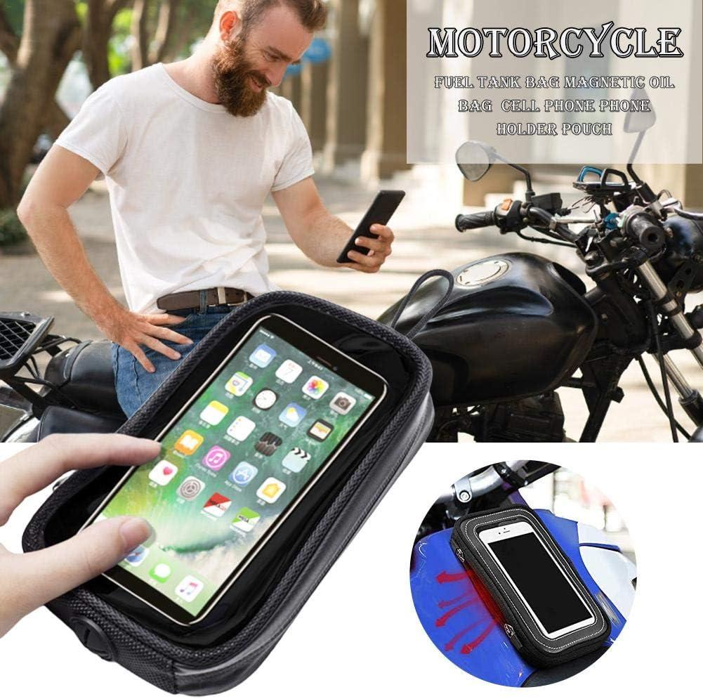 Groust Motorr/äder Tanktasche wasserdichte Transparente Motorrad-Handy-Taschen Touchscreen Tankrucksack Geeignet F/ür Motorrad Navigation