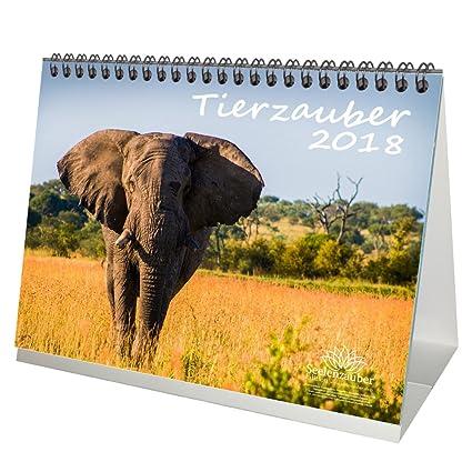 premium-tischkalender-kalender-2018-din-a5-tierzauber-tiere-wildnis-natur-edition-seelenzauber