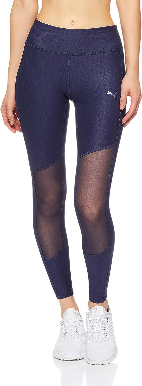 TALLA L. PUMA Always On Graphic 7/8 Tight Pantalones, Mujer