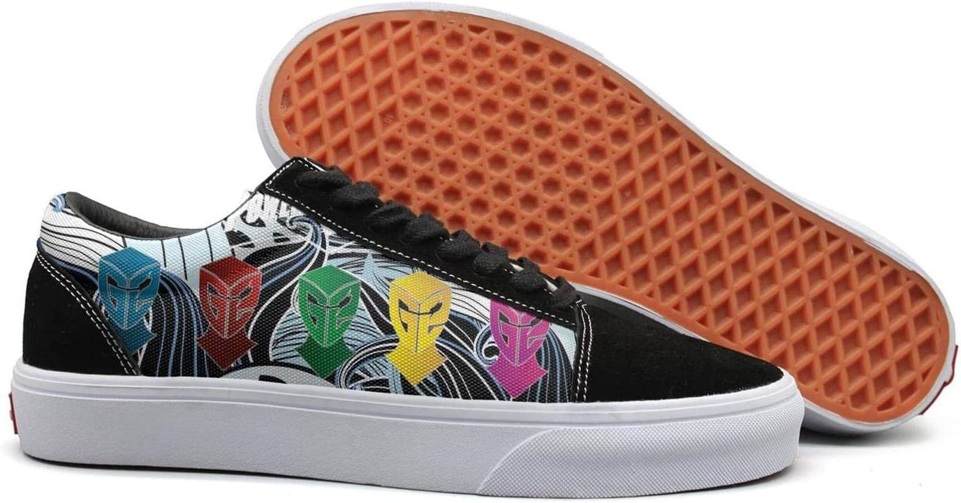 Sneakers for Mens GAKIIER Mens Power-Rangers-Five