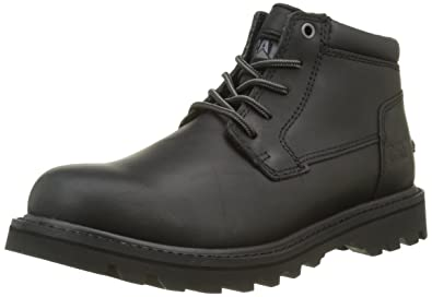 Marques Chaussure homme Caterpillar homme Basis Black