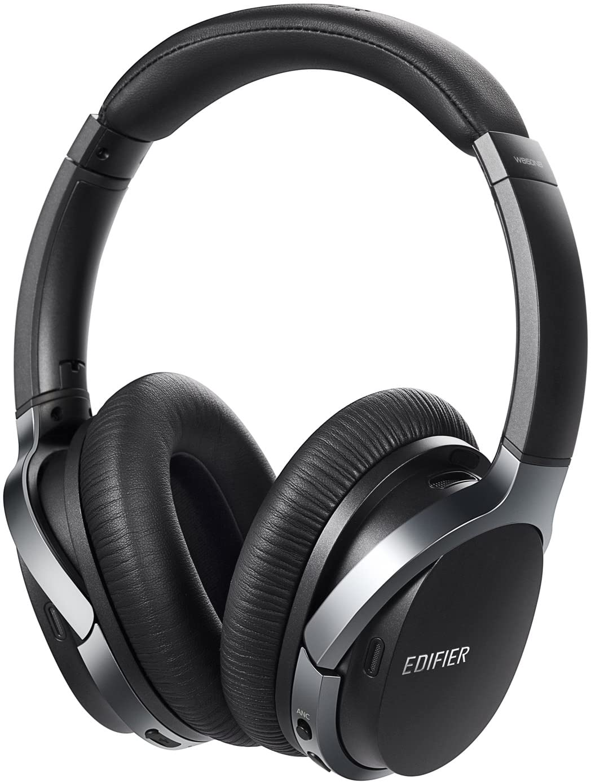 Edifier W860NB Auriculares Bluetooth aptX con Smart Touch con cancelación Activa de Ruido - Negro