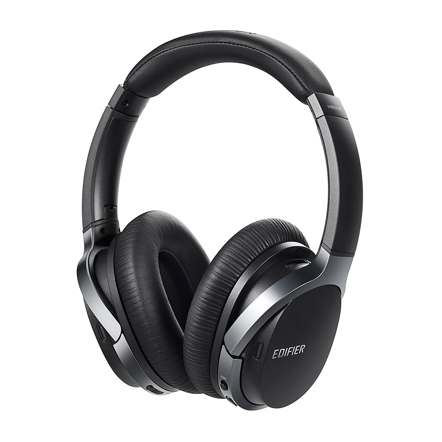 Edifier W860NB Active Noise Cancelling Foldable Over-Ear Bluetooth Headphones with Mic, Smart Touch, 25 Hours of ANC Battery Life, Travel Case, and NFC...