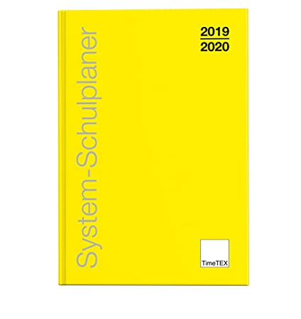 TimeTex 10770 - Agenda escolar (A6-Plus, curso 2019-2020), color ...